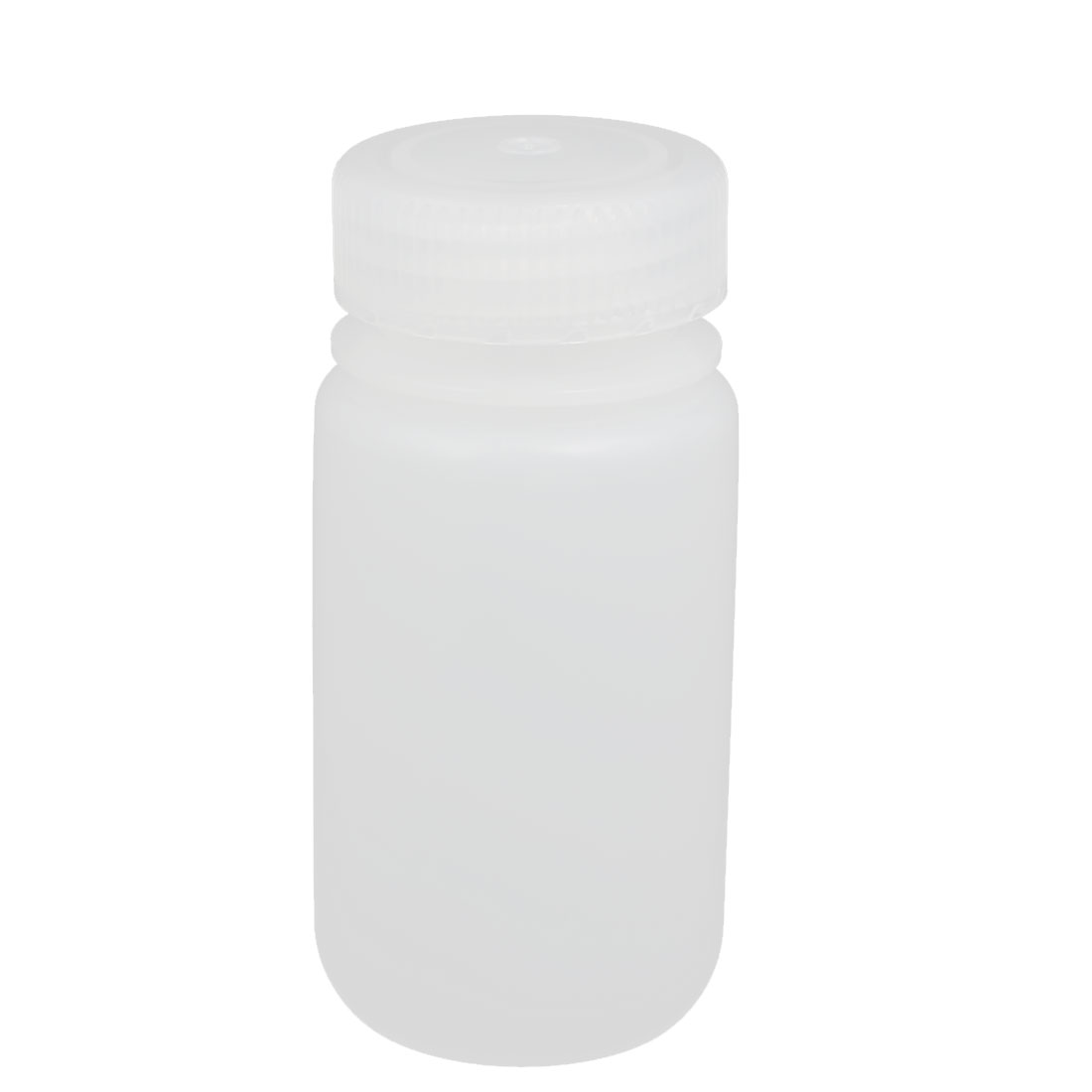 100ml Plastic Round Laboratory Reagent Bottle Sample Thicken Bottle White
