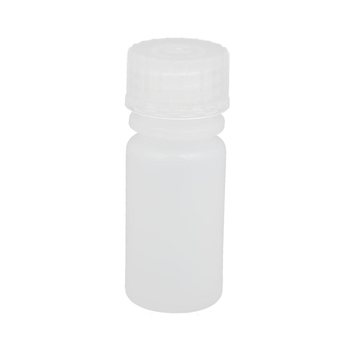 4ml Plastic Round Laboratory Reagent Bottle Sample Thicken Bottle White