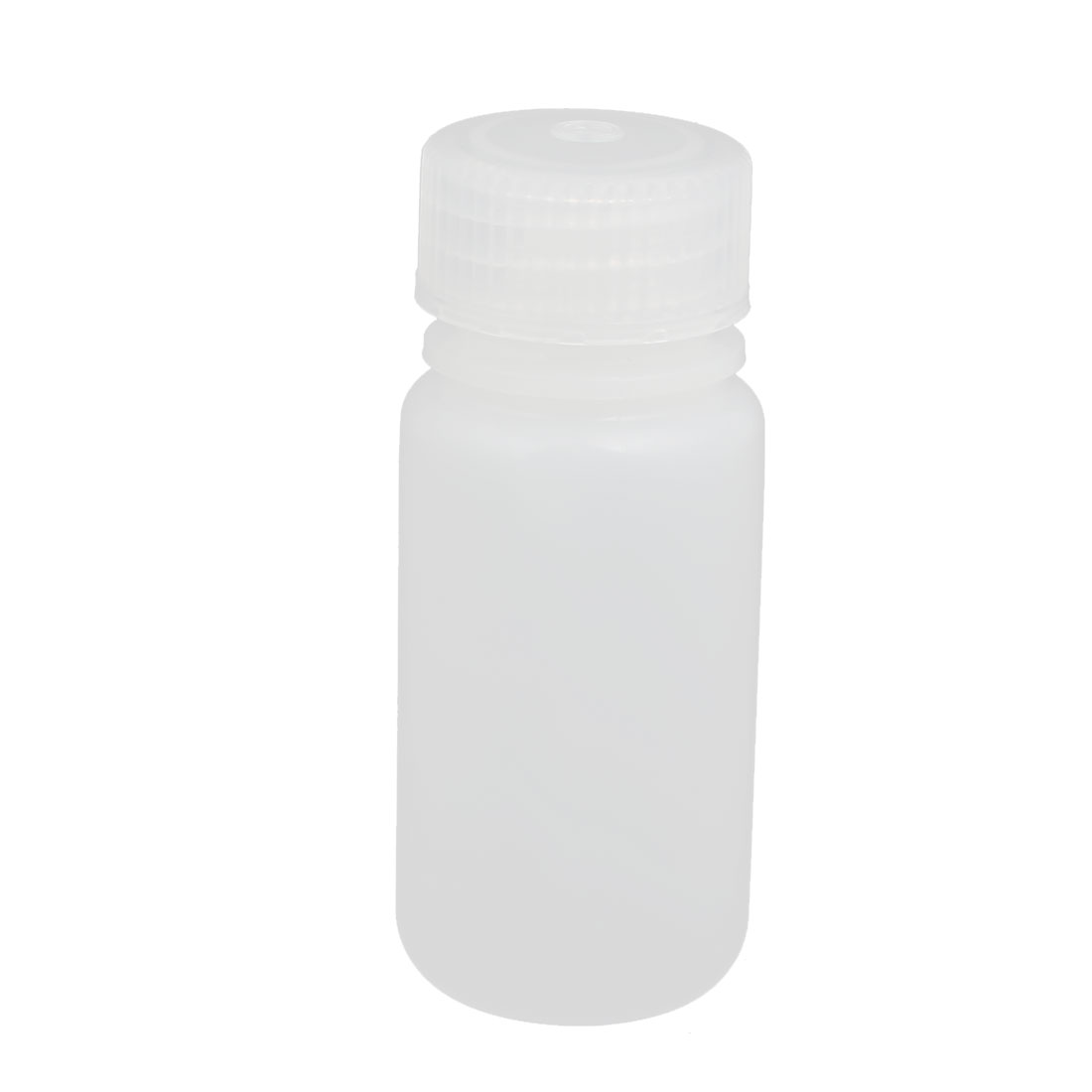 50ml Plastic Round Laboratory Reagent Bottle Sample Thicken Bottle White