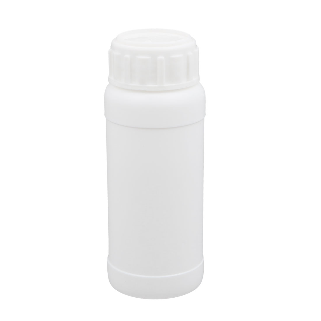 100ml Plastic White Round Solid Powder Bottle Storage Container Jar