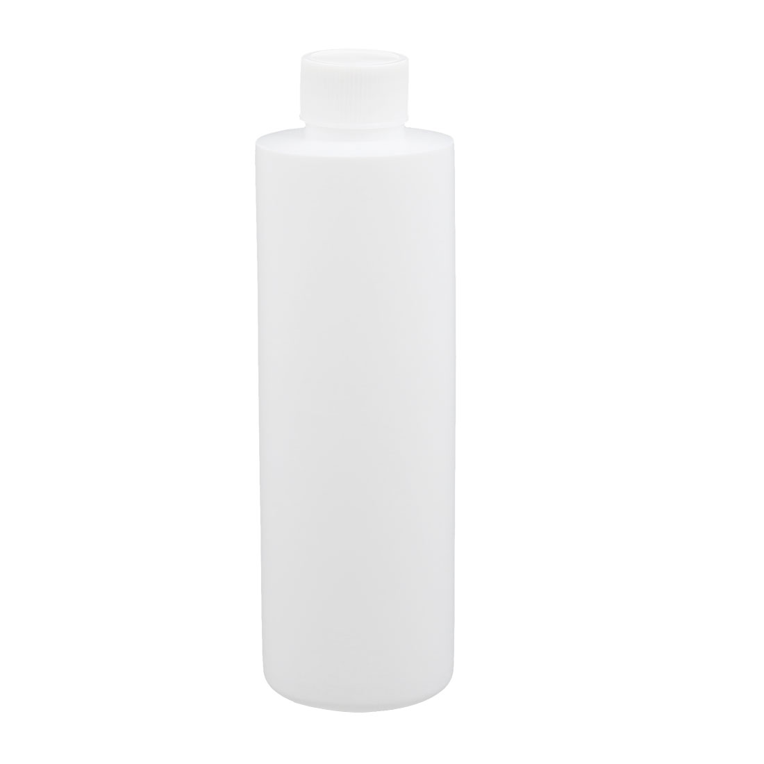6.8oz HDPE Plastic White Refillable Narrow Mouth Storage Bottle Jar