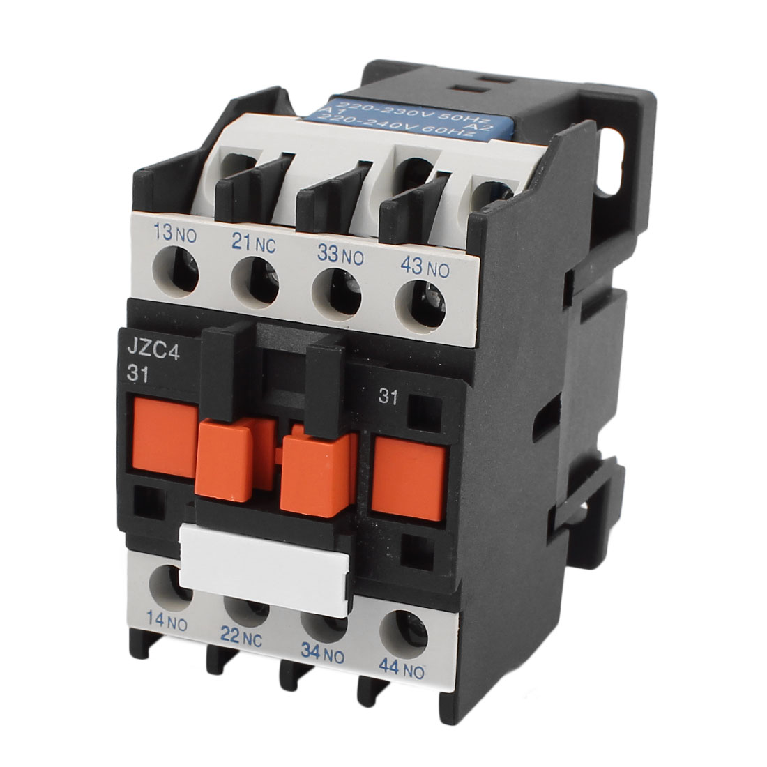 JZC4-31 Ui 660V 220V Coil 3NO 1NC Contact Type Auxiliary Contactor Relay