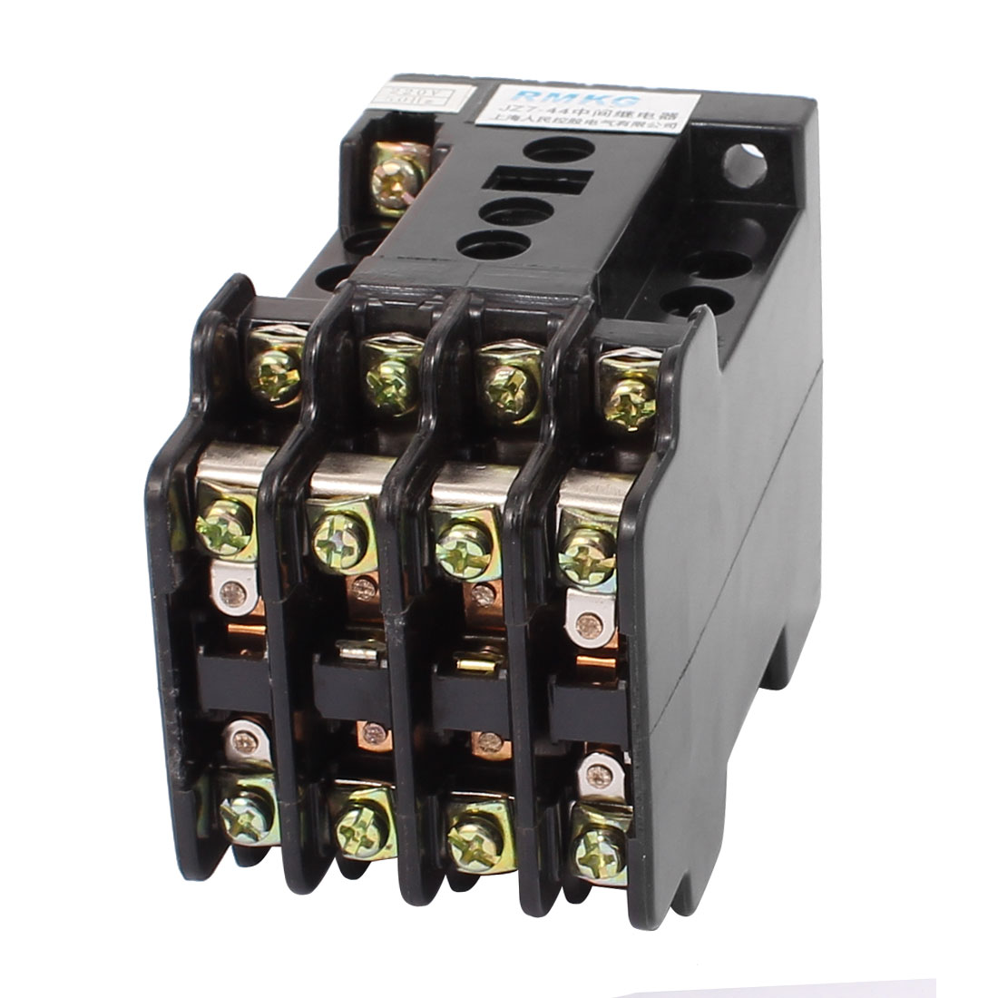 JZ7-62 AC 220V Coil Voltage 6NO 2NC Contact Type Auxiliary Contactor Relay