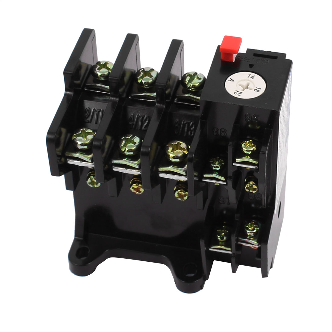 JR36-20 14-22A Three Phase Motor Protector Electric Thermal Overload Relay