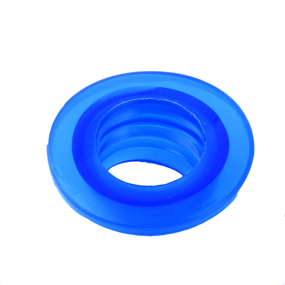 Washroom Silicone Deodorant Washing Machine Drain Sewer Pipe Sealing Connector Blue