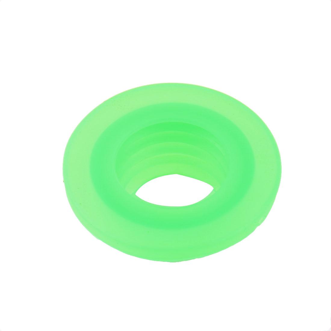 Washroom Silicone Deodorant Washing Machine Drain Sewer Pipe Sealing Connector Green