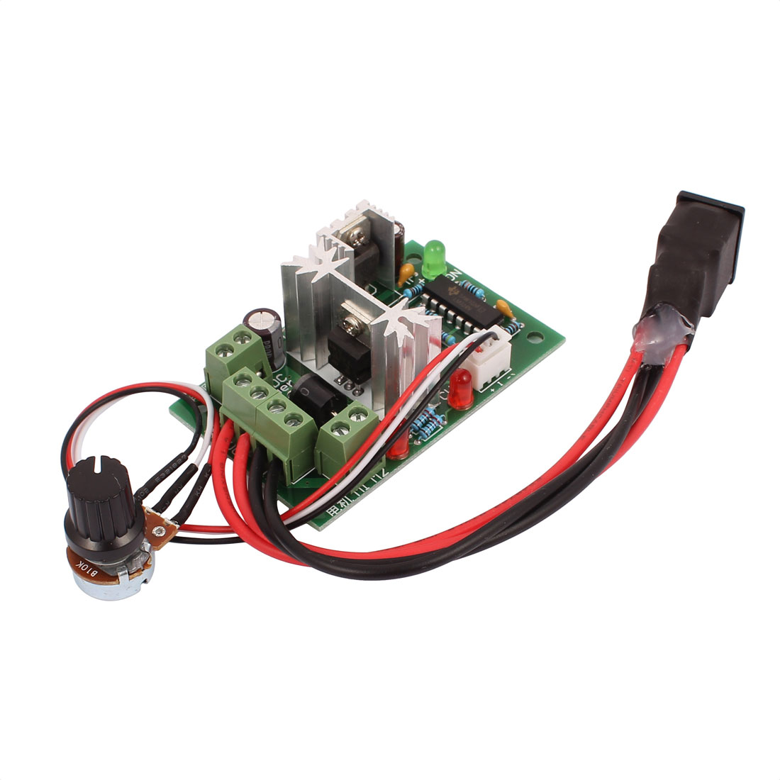10-30V 120W PWM DC Motor Speed Regulator Controller Forward / Reverse Switch