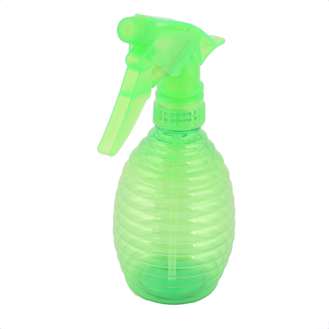 Salon Plants Plastic Hairdressing Trigger Liquid Water Sprayer Spray Bottle Green 350ml
