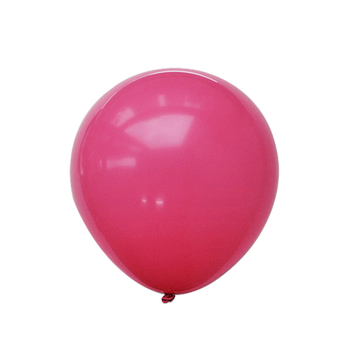 Wedding Birthday Party Latex Round Shape Decoration Favor Balloon Shocking Pink 36 Inch