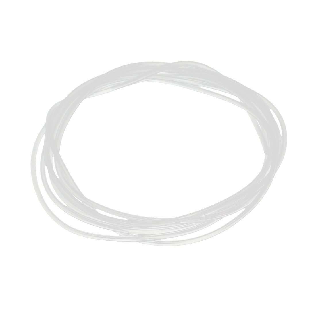 1mm x 2mm Silicone Translucent Tube Water Air Pump Hose Pipe 1.5 Meters Length