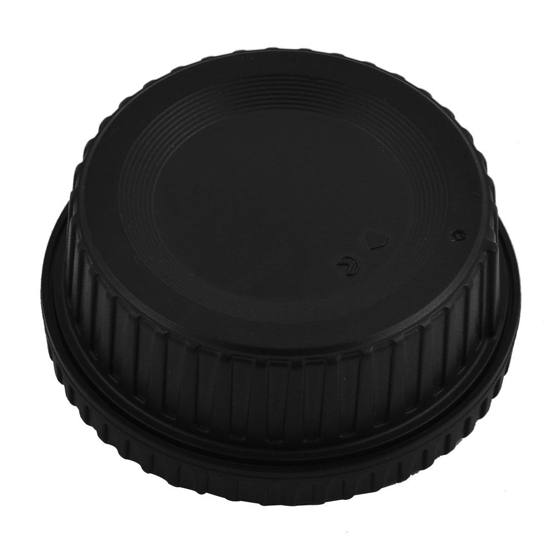 Digital SLR DSLR Plastic Camera Body Cover Rear Lens Cap Black 58 x 25mm
