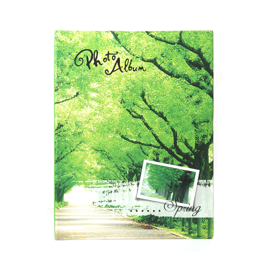 Household Retangular Shaped Spring Scenery Pattern Collections Holder Photo Album