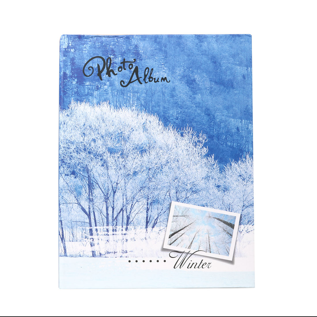 Household Retangular Shaped Winter Scenery Pattern Collections Holder Photo Album