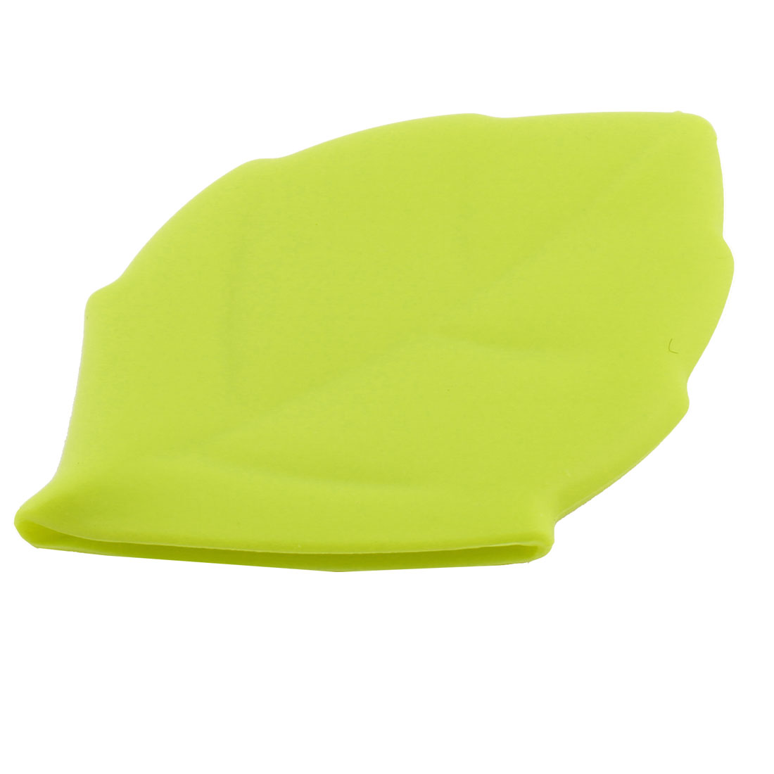 Outdoor Camping Maple Leaf Shape Portable Foldable Rinse Water Cup Silicone Cup Green