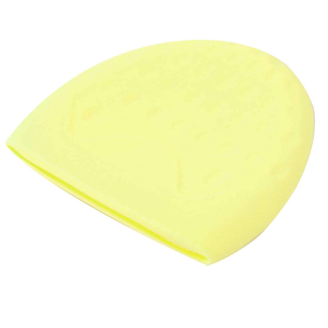 Camping Traveling Strawberry Shaped Portable Foldable Tooth Cup Silicone Cup Yellow