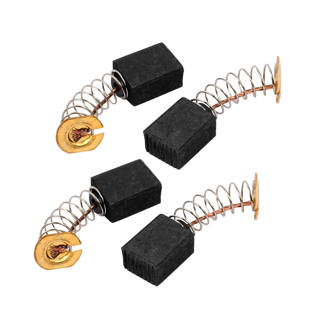 2 Pairs 12x9x6mm Carbon Brushes Power Tool for Electric Hammer Drill Motor