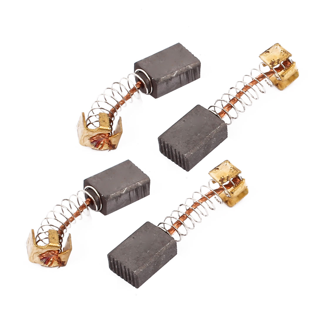 2 Pairs Carbon Brushes Power Tool 12 x 8 x 5mm for Generic Electric Motor