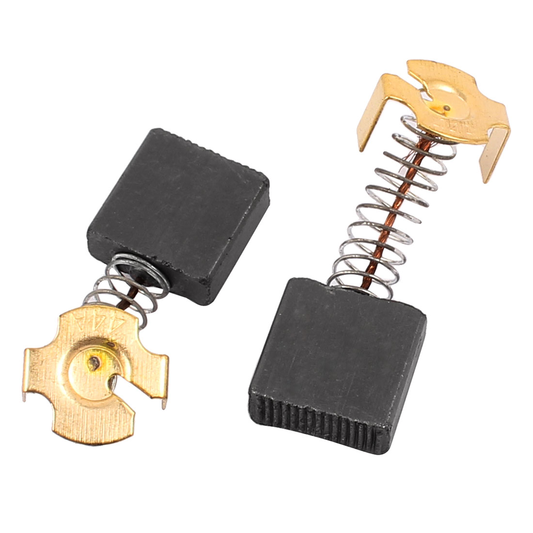 Pair 17x17x7mm Carbon Brushes Power Tool for Electric Hammer Drill Motor