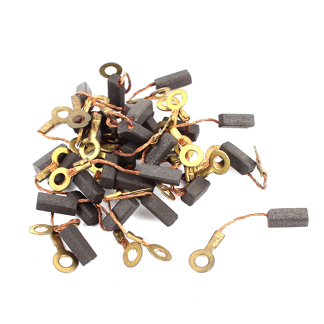 15 Pairs Electric Drill Motor Rotary Power Tool Carbon Brush 3.5 x 4 x 10mm No Spring