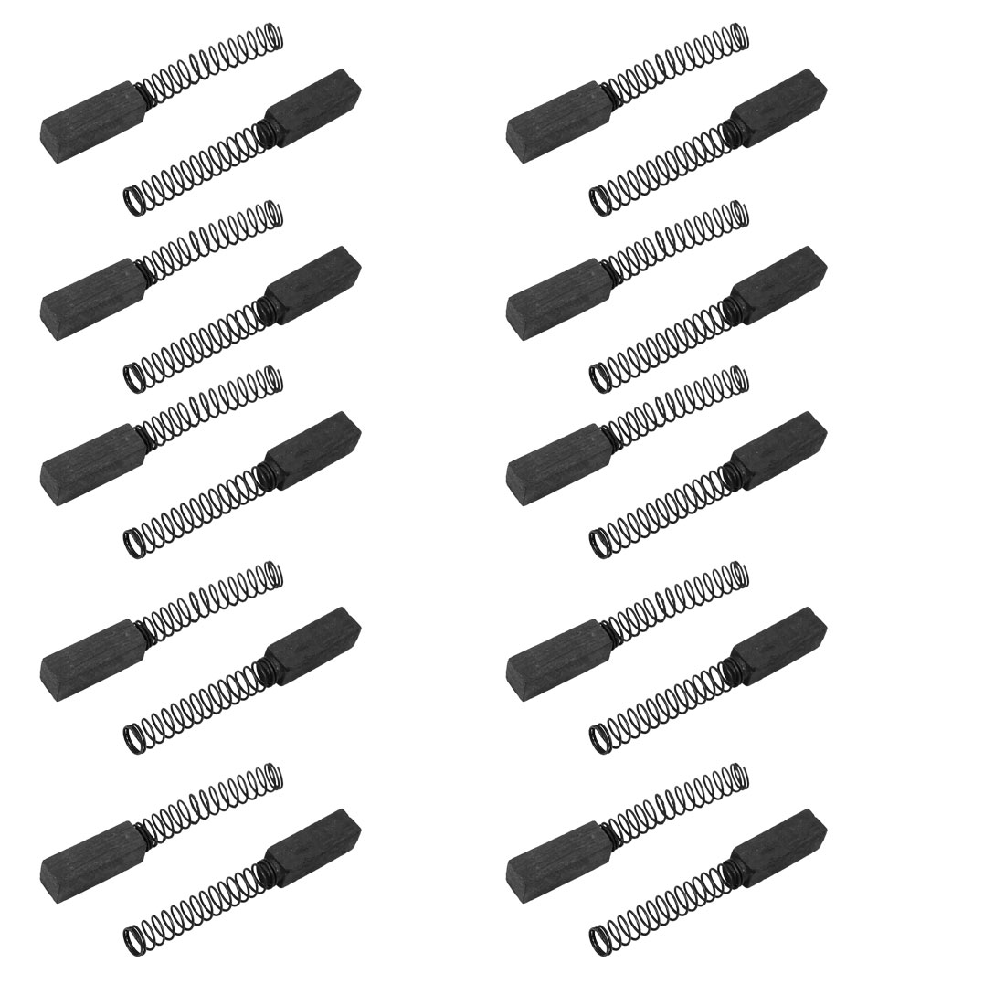 10 Pairs Replacement Carbon Brushes 4mm x 4mm x 13mm for Generic Electric Motor