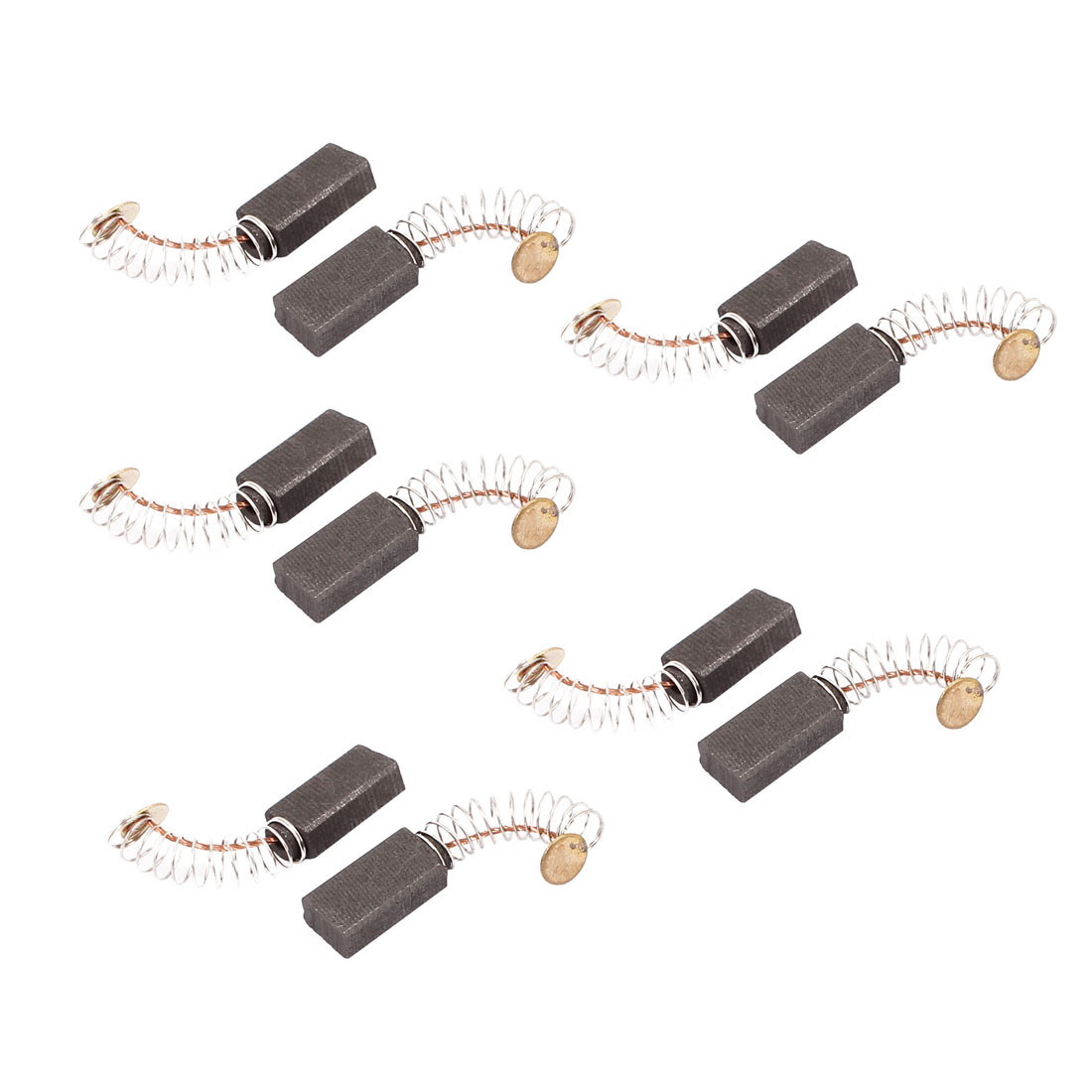 5 Pairs 36x15x8x5mm Carbon Brushes Power Tool for Electric Hammer Drill Motor