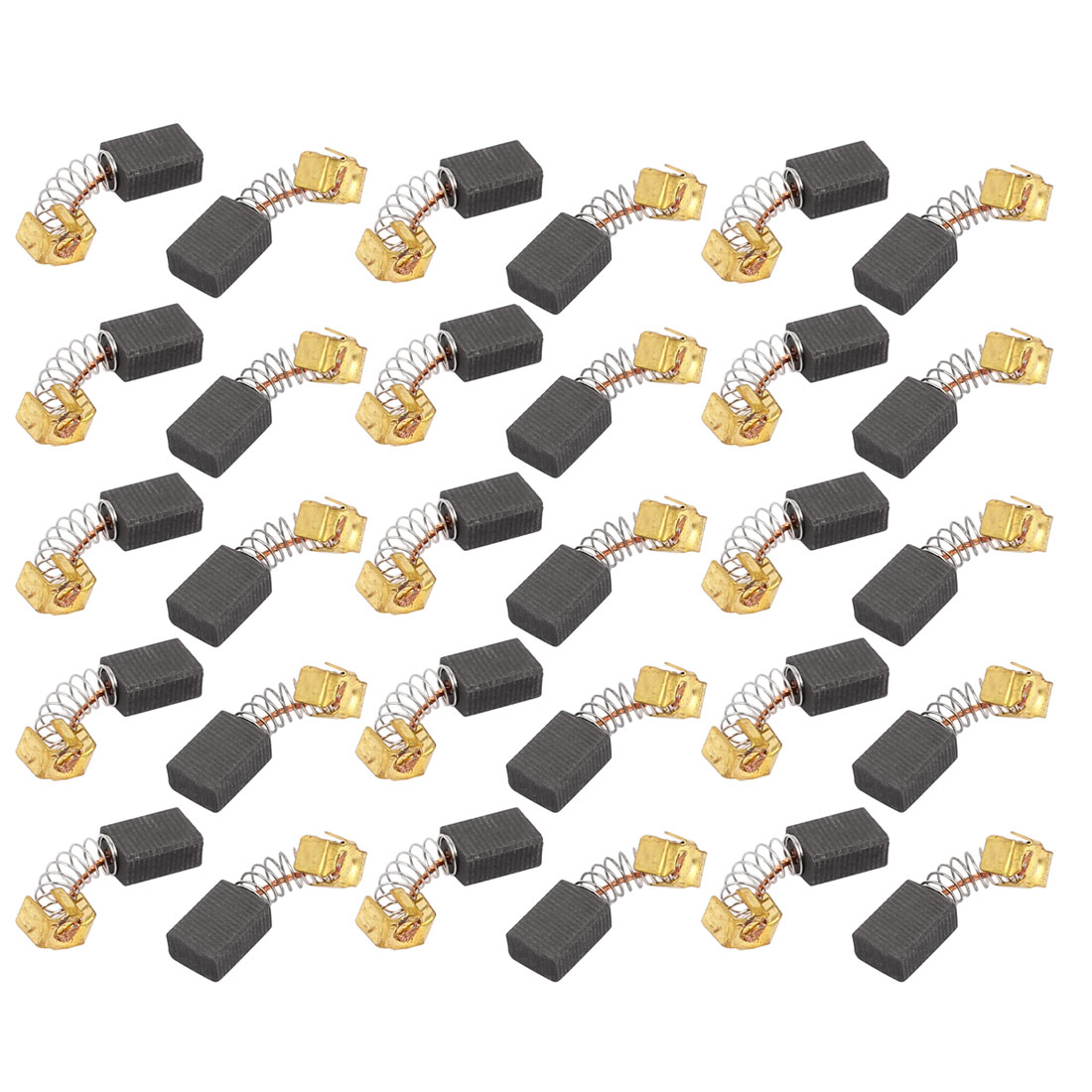 15 Pairs 26x11x7x5mm Carbon Brushes Power Tool for Electric Hammer Drill Motor