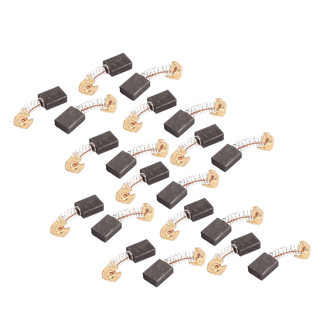 10 Pairs Electric Drill Motor Rotary Power Tool Carbon Brush 6.5 x 13.5 x 17mm