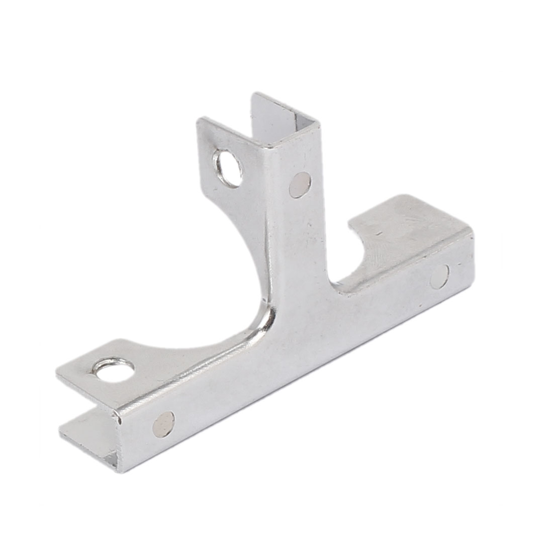 5mm-10mm Thickness Adjustable Glass Shelf T Shape Bracket Support Clip Clamp