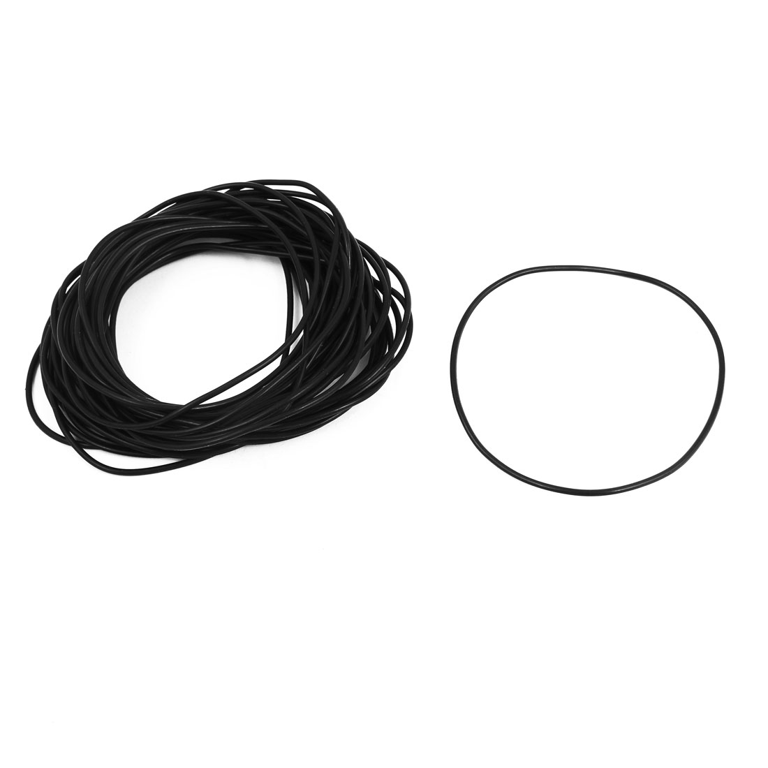 40 Pcs 65mm x 1.5mm Rubber O-rings NBR Heat Resistant Sealing Ring Grommets