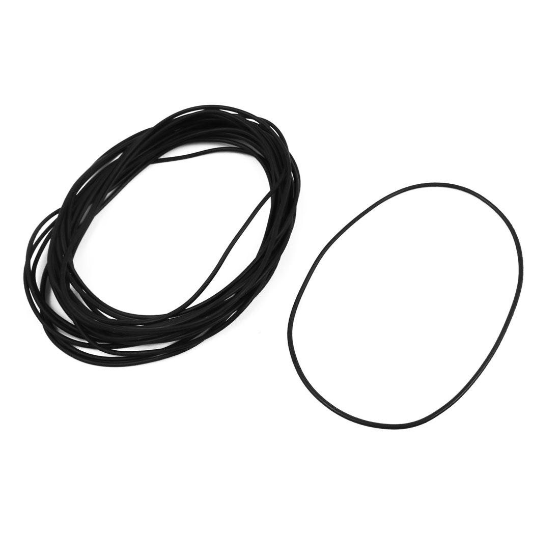 20 Pcs 78mm x 1.5mm Rubber O-rings NBR Heat Resistant Sealing Ring Grommets