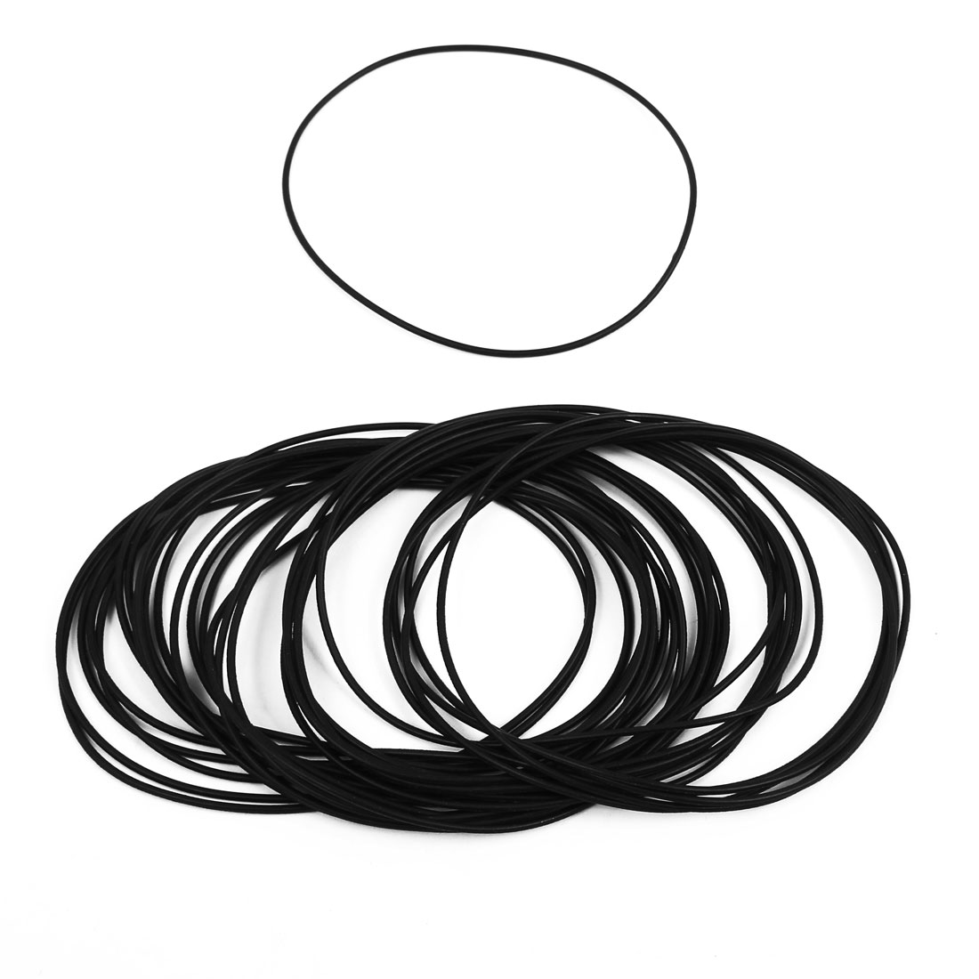30 Pcs 85mm x 1.5mm Rubber O-rings NBR Heat Resistant Sealing Ring Grommets