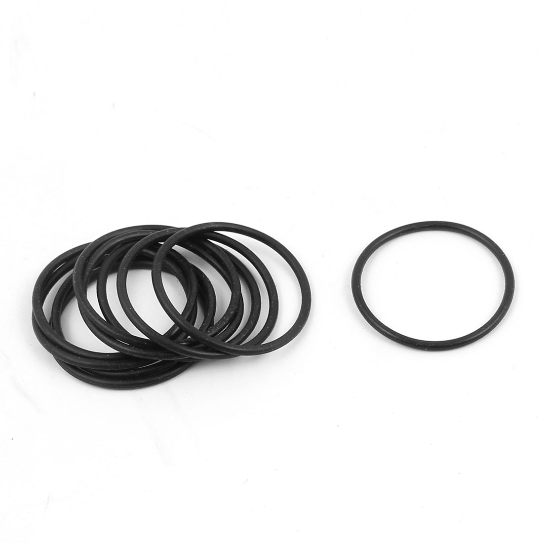 10 Pcs 26mm x 1.5mm Rubber O-rings NBR Heat Resistant Sealing Ring Grommets