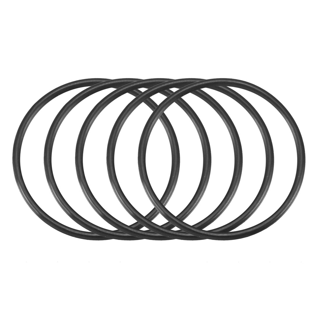 30 Pcs Black 28mm x 1.5mm Nitrile Rubber O Ring NBR Oil Sealing Grommets