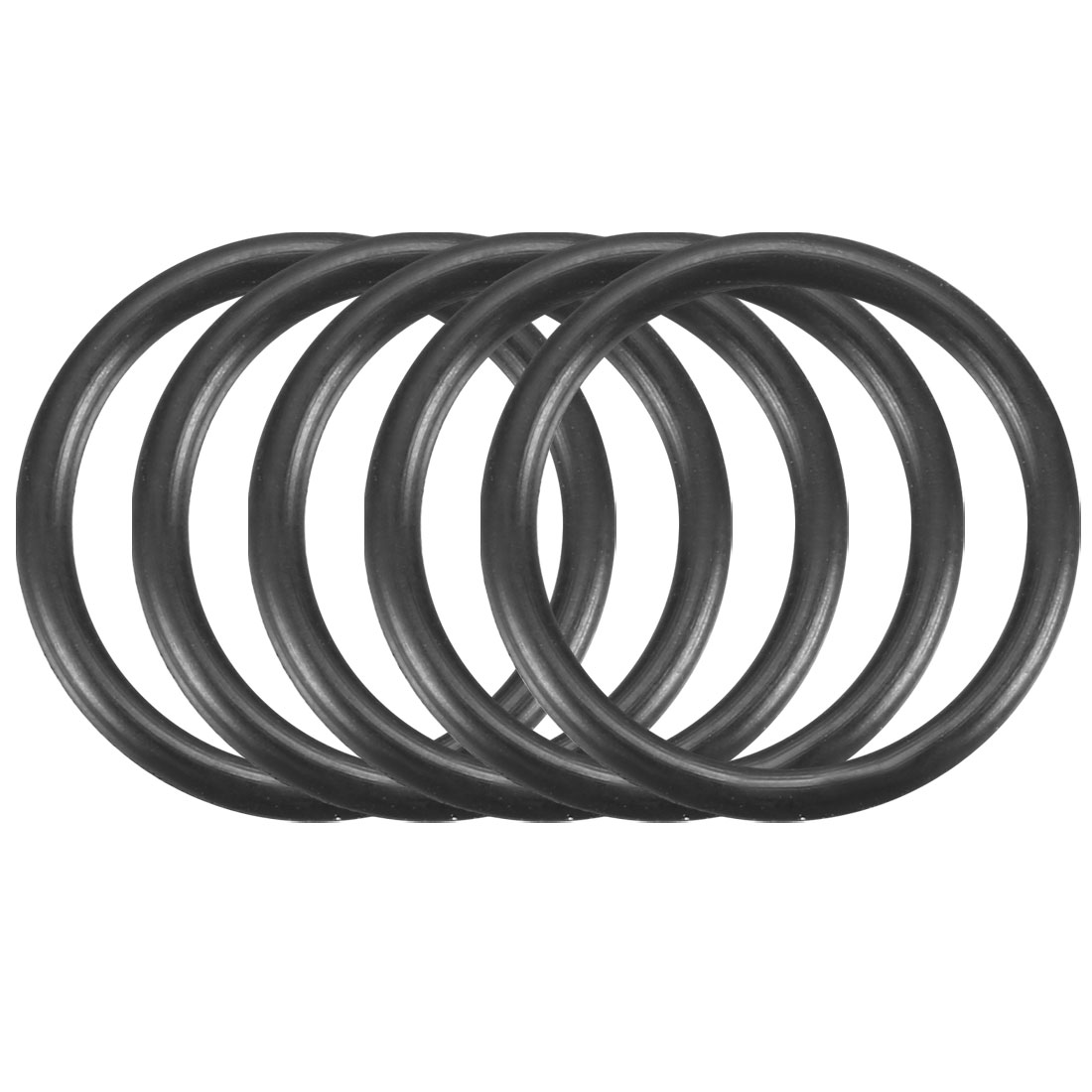 150 Pcs 16mm x 1.5mm Rubber O-rings NBR Heat Resistant Sealing Ring Grommets