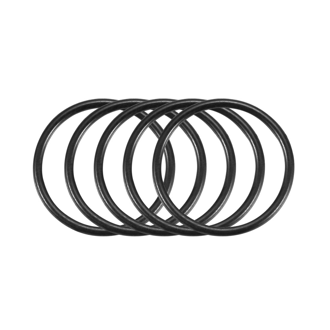 100Pcs Black 14mm x 1mm Nitrile Rubber O Ring NBR Oil Sealing Grommets