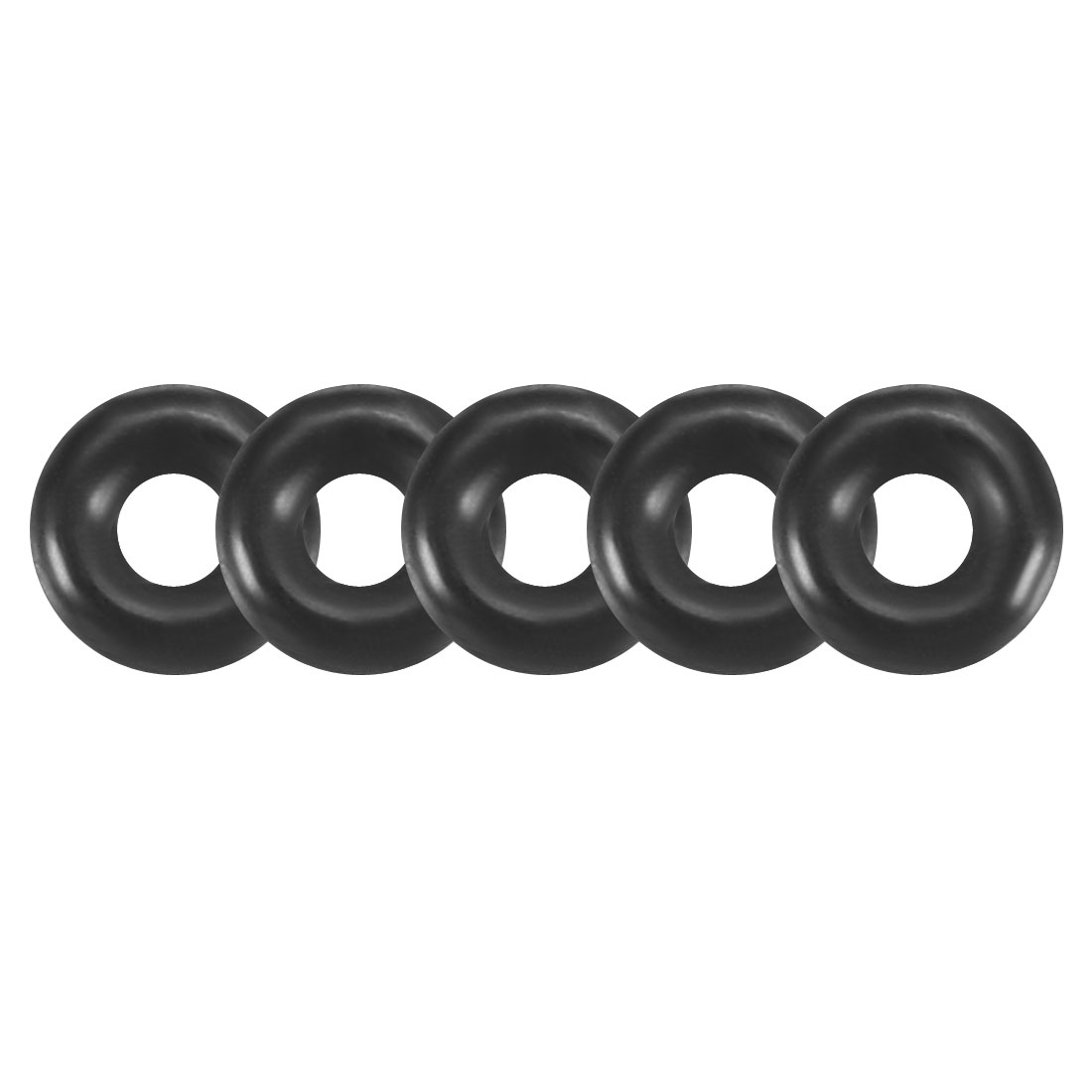 100Pcs 3.2x1mm Nitrile Rubber O-rings Heat Resistant Sealing Ring Grommets Black