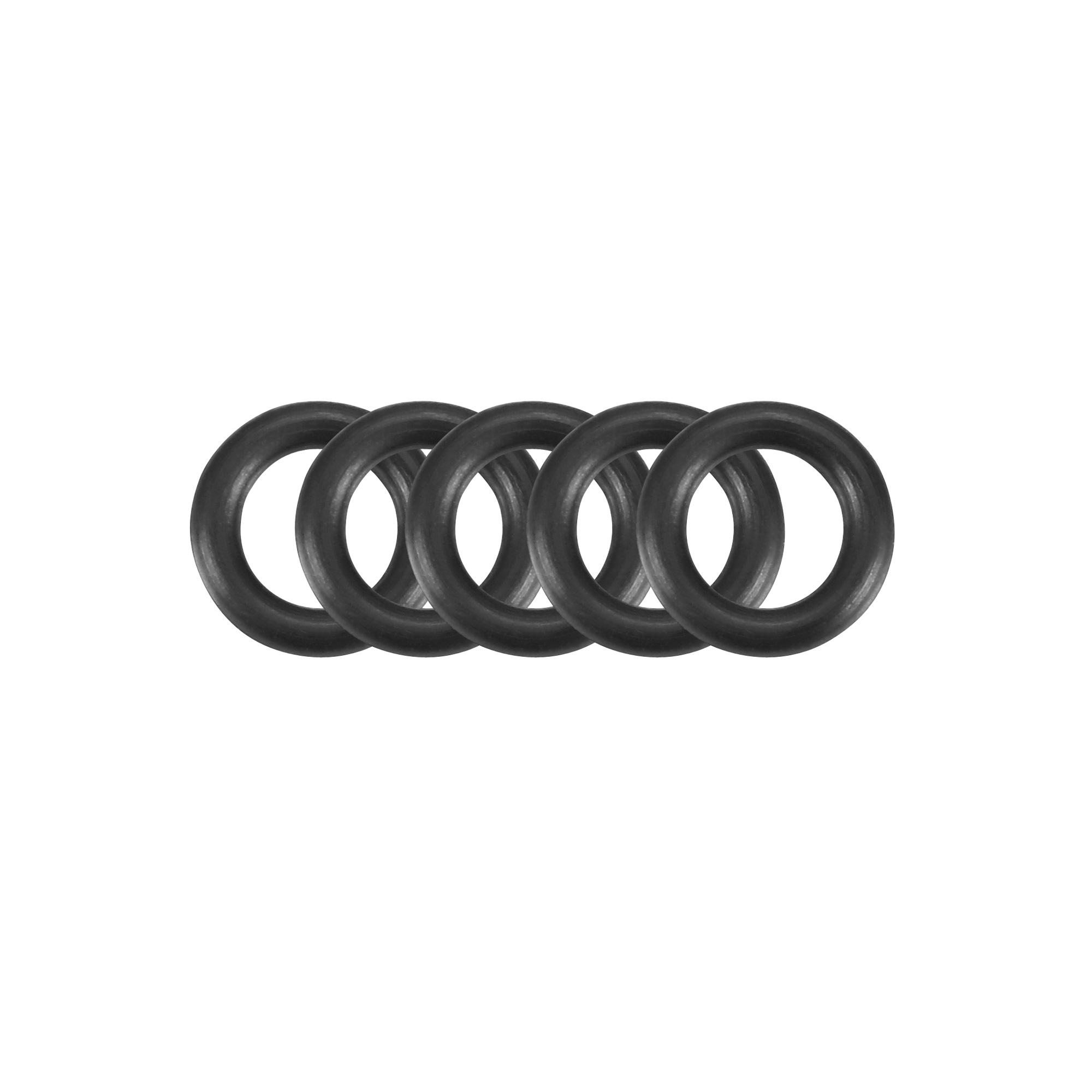 100Pcs Black 1.4mm x 0.8mm Nitrile Rubber O Ring NBR Oil Sealing Grommets