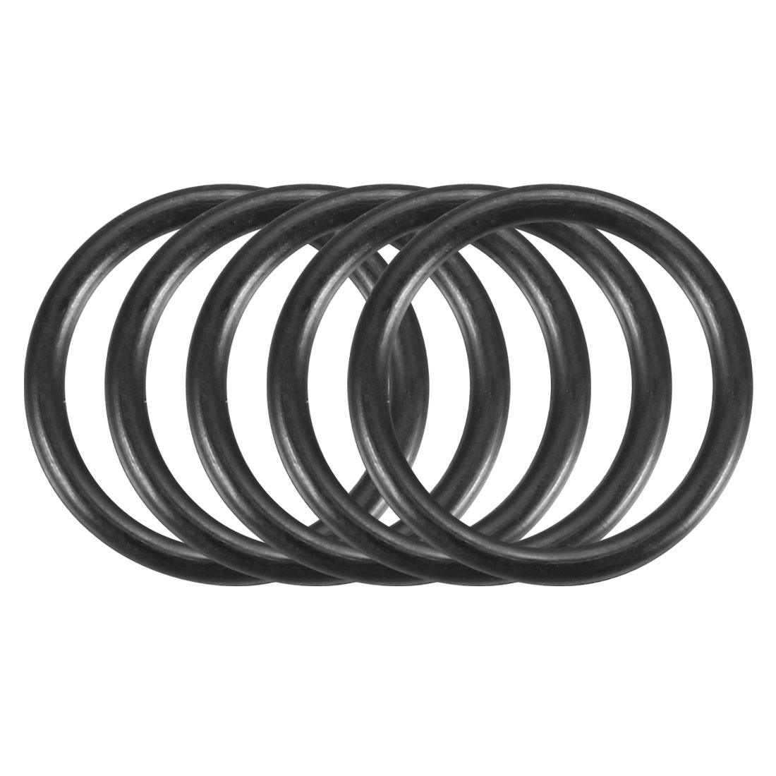 100Pcs 11x1.2mm Nitrile Rubber O-ring Heat Resistant Sealing Ring Grommets Black