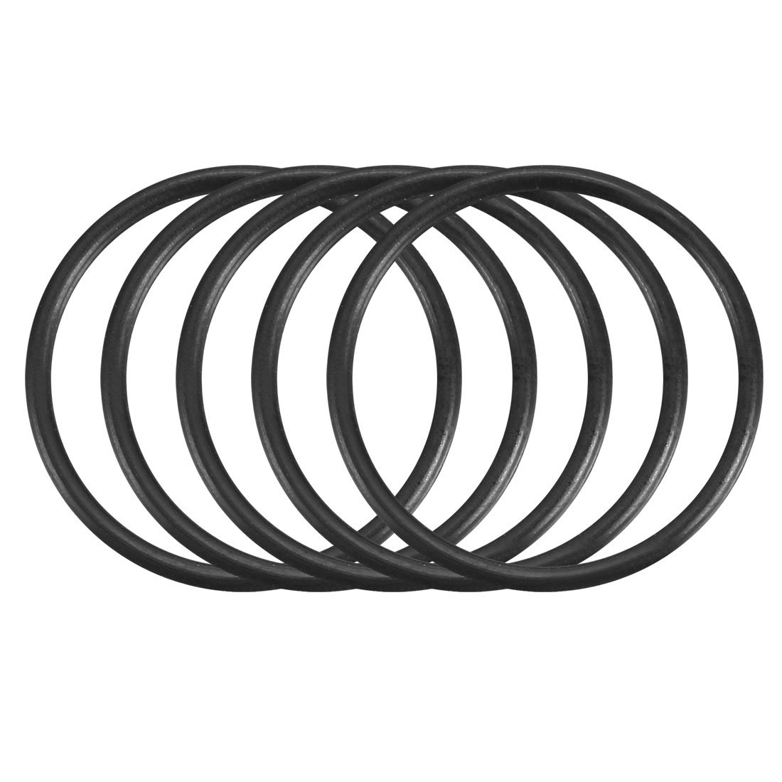 100Pcs Black 18mm x 1.2mm Nitrile Rubber O Ring NBR Oil Sealing Grommets