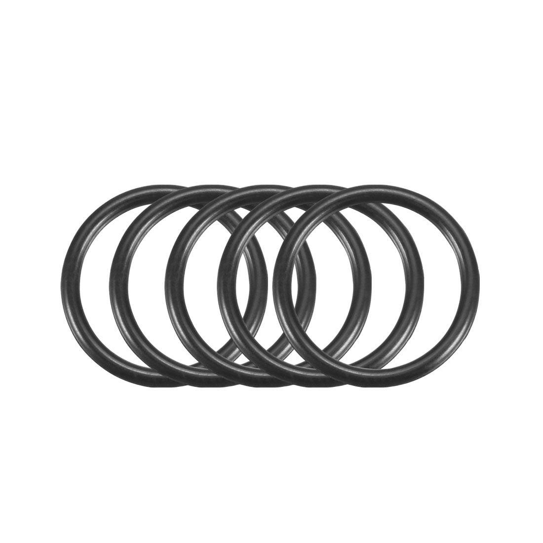 100Pcs Black 13mm x 1.2mm Nitrile Rubber O Ring NBR Oil Sealing Grommets