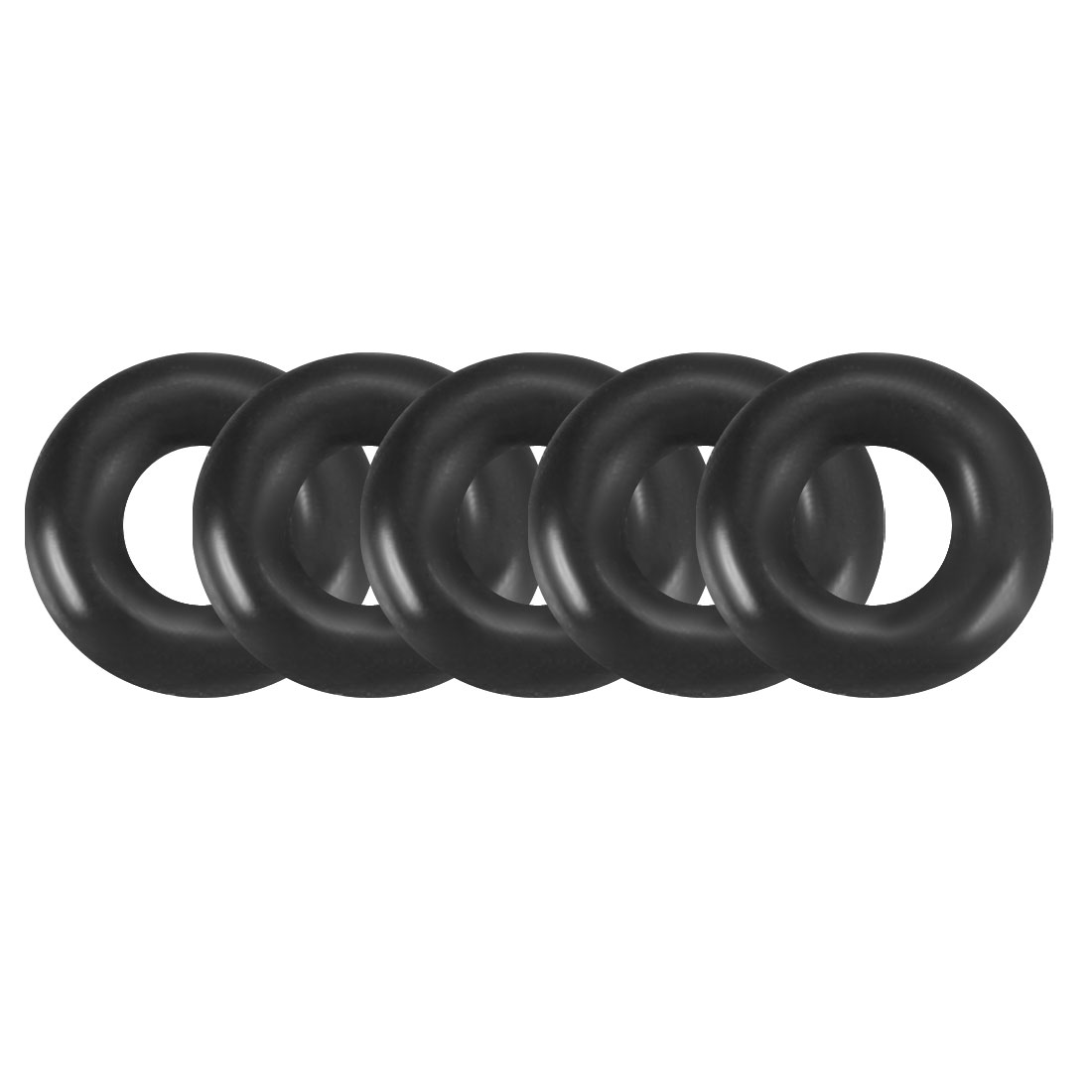 100Pcs 4.2x1.2mm Nitrile Rubber O-rings Heat Resistant Sealing Ring Grommets Black