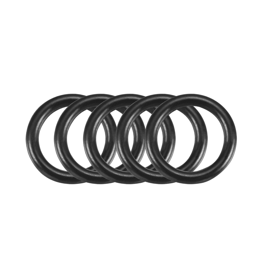 100Pcs 10.5x1.5mm Nitrile Rubber O-rings Heat Resistant Sealing Ring Grommets
