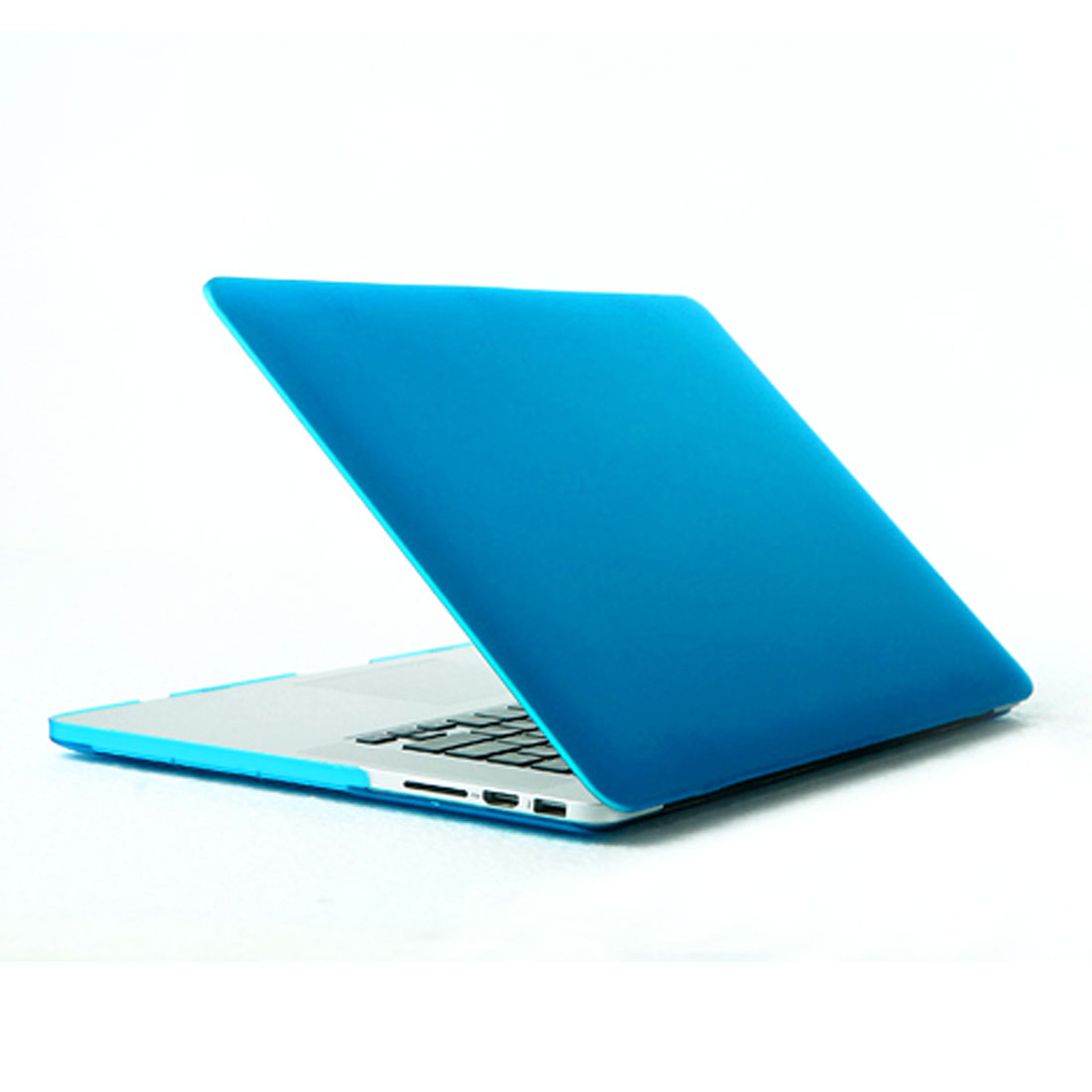 Plastic Hard Shell Cover Protector Sky Blue for MacBook Pro 15 Inch Retina