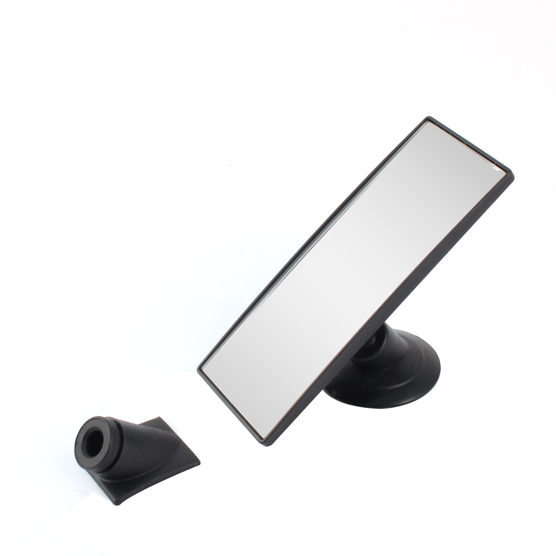 Vehicle Car Interior Free Angle Convex Rear View Blind Spot Mirror 145 x 55mm Size