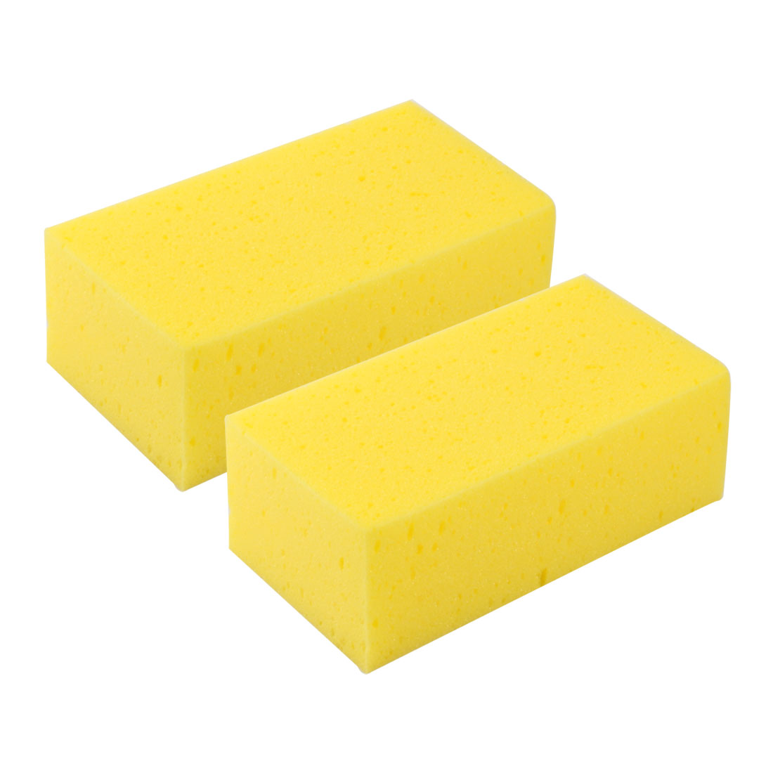 Auto Car Truck Motorcycle Furniture Boat Sponge Cleaner Block Cleaning Tool 2pcs