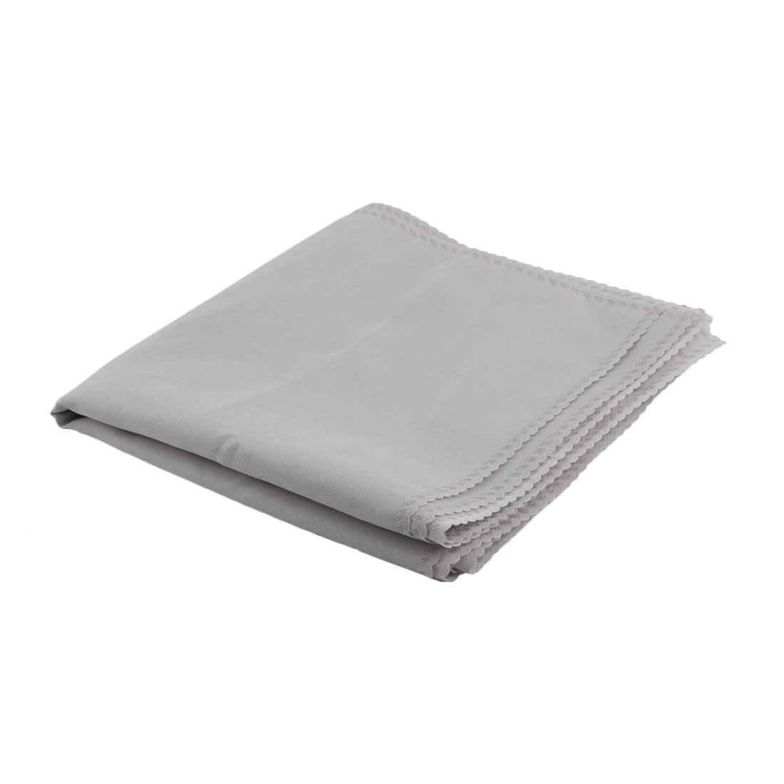 Kitchen Dining Room Fabric Stain-resistant Table Placemat Eat Mat Gray 6 Pcs