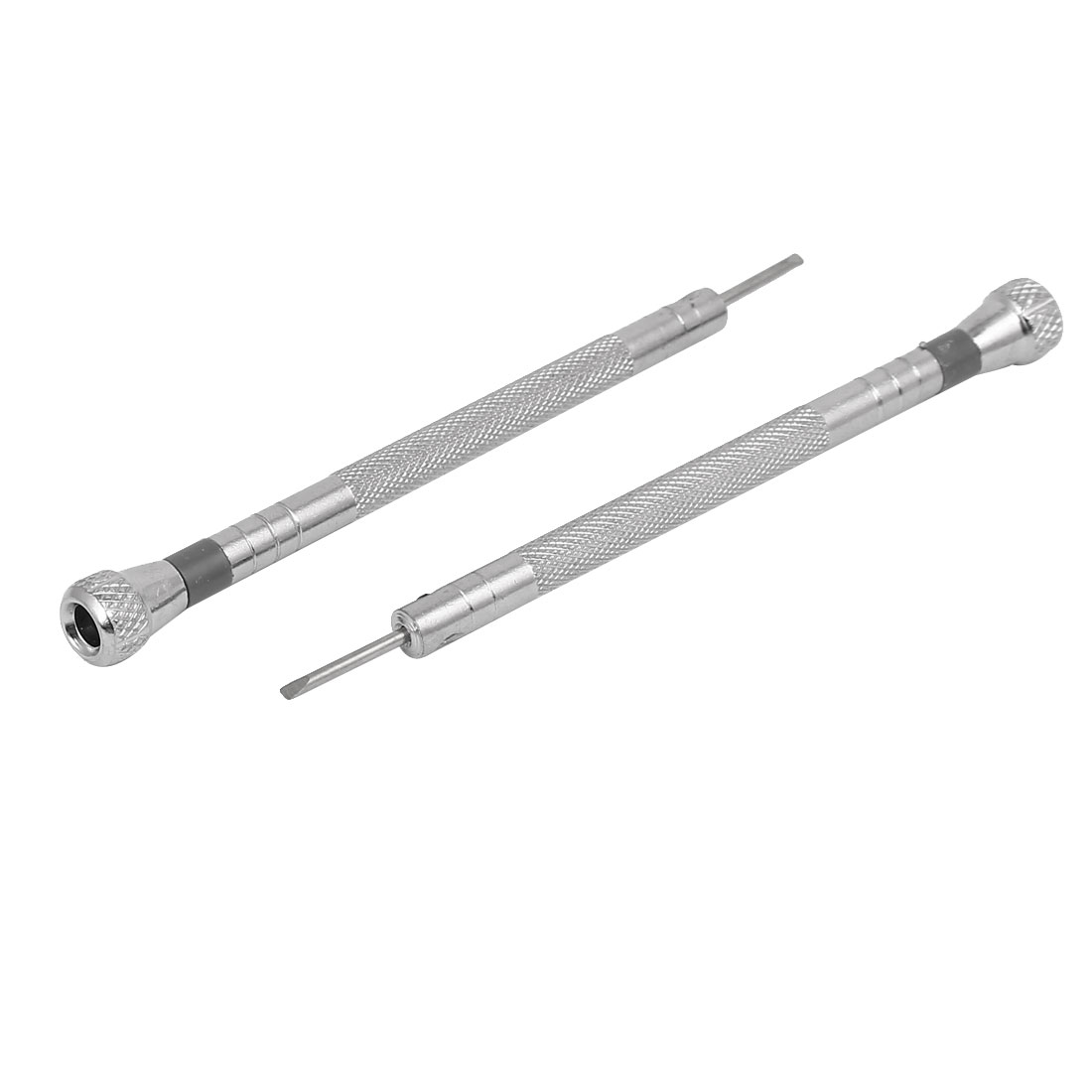 91mm Long 1.4mm Width Flat Blade Slotted Screwdriver Watch Repairing Tool 2pcs