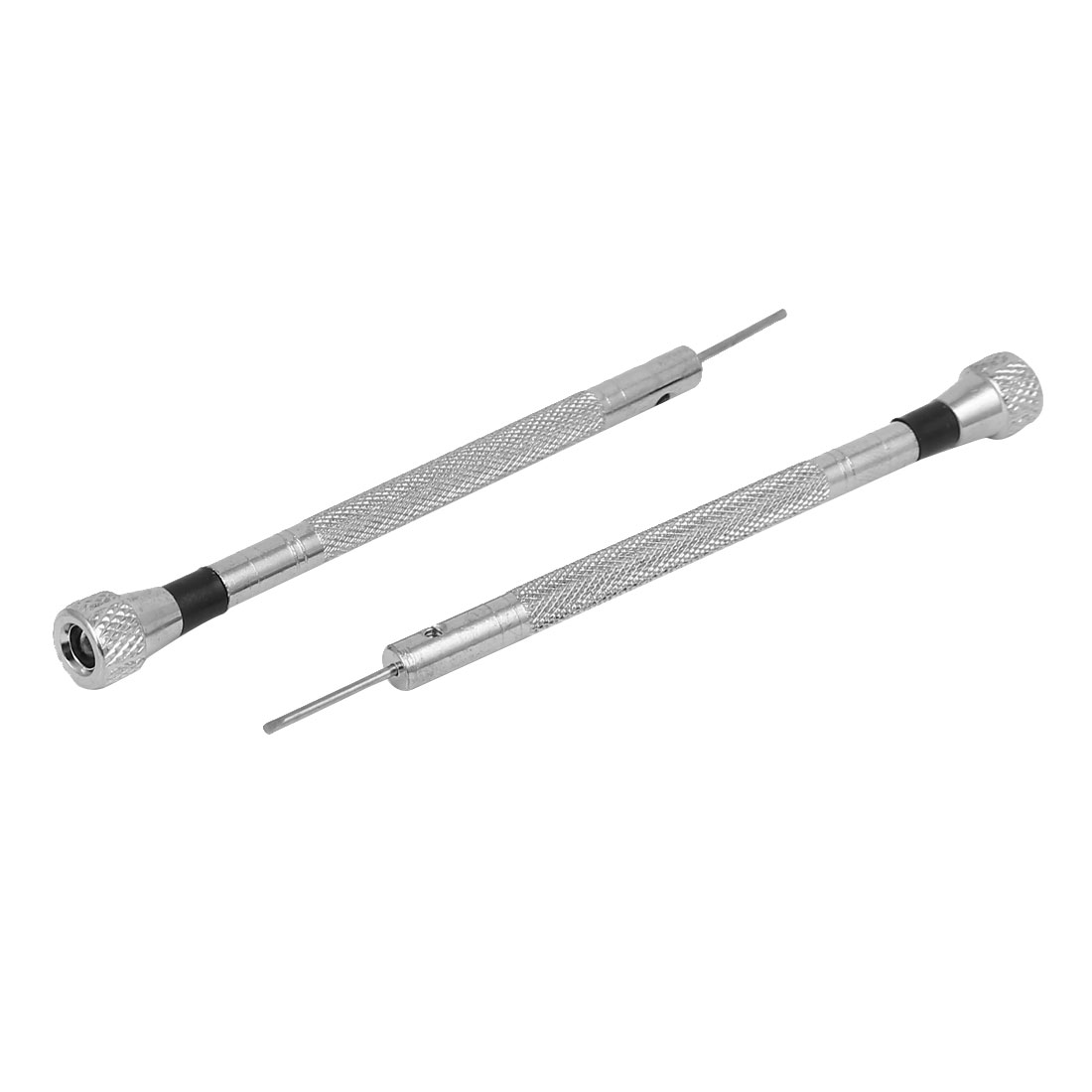 90mm Long 1mm Width Flat Blade Slotted Screwdriver Watch Repairing Tool 2pcs