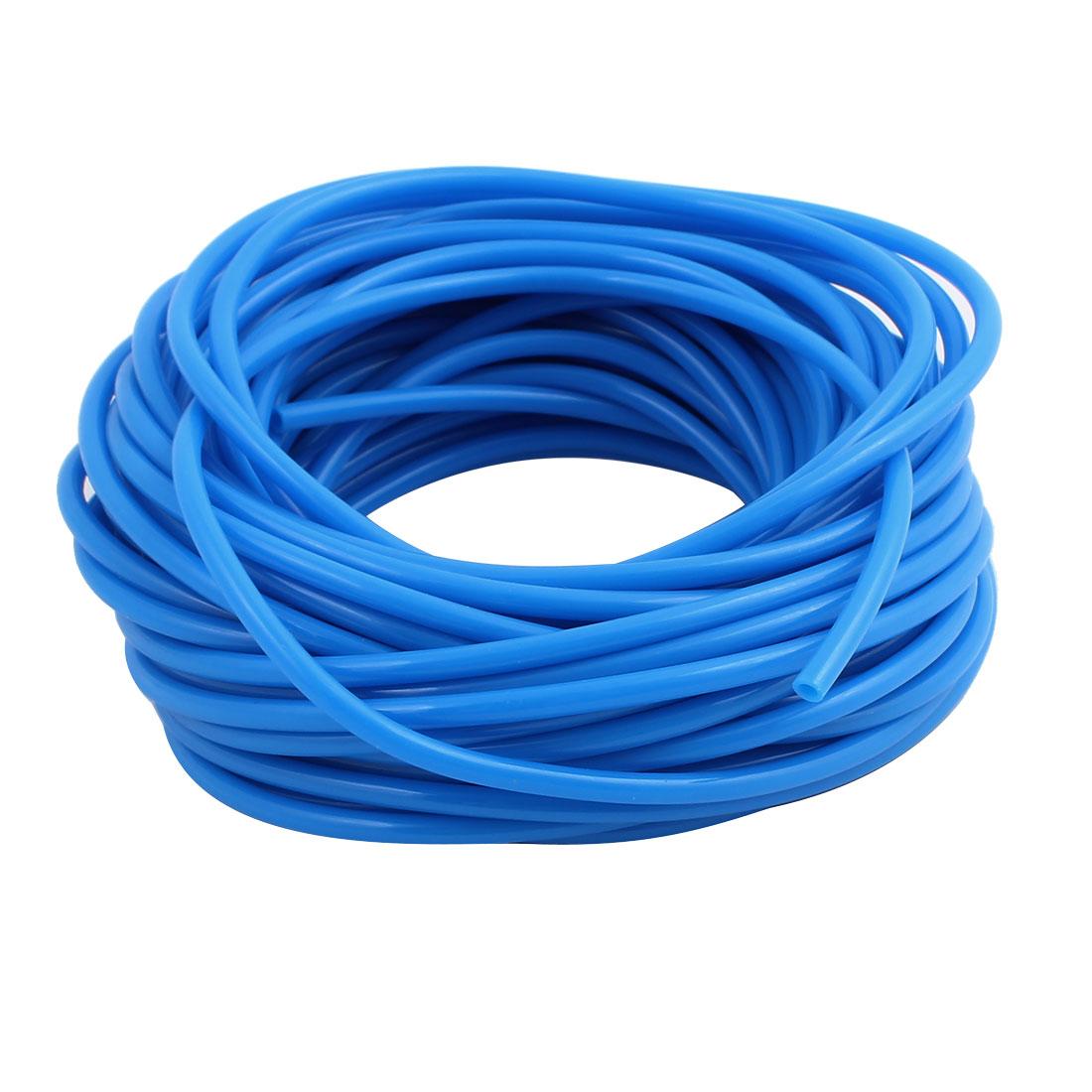 2.5mm x 4mm Flexible Pneumatic Polyurethane PU Hose Pipe Tube Blue 15m Length