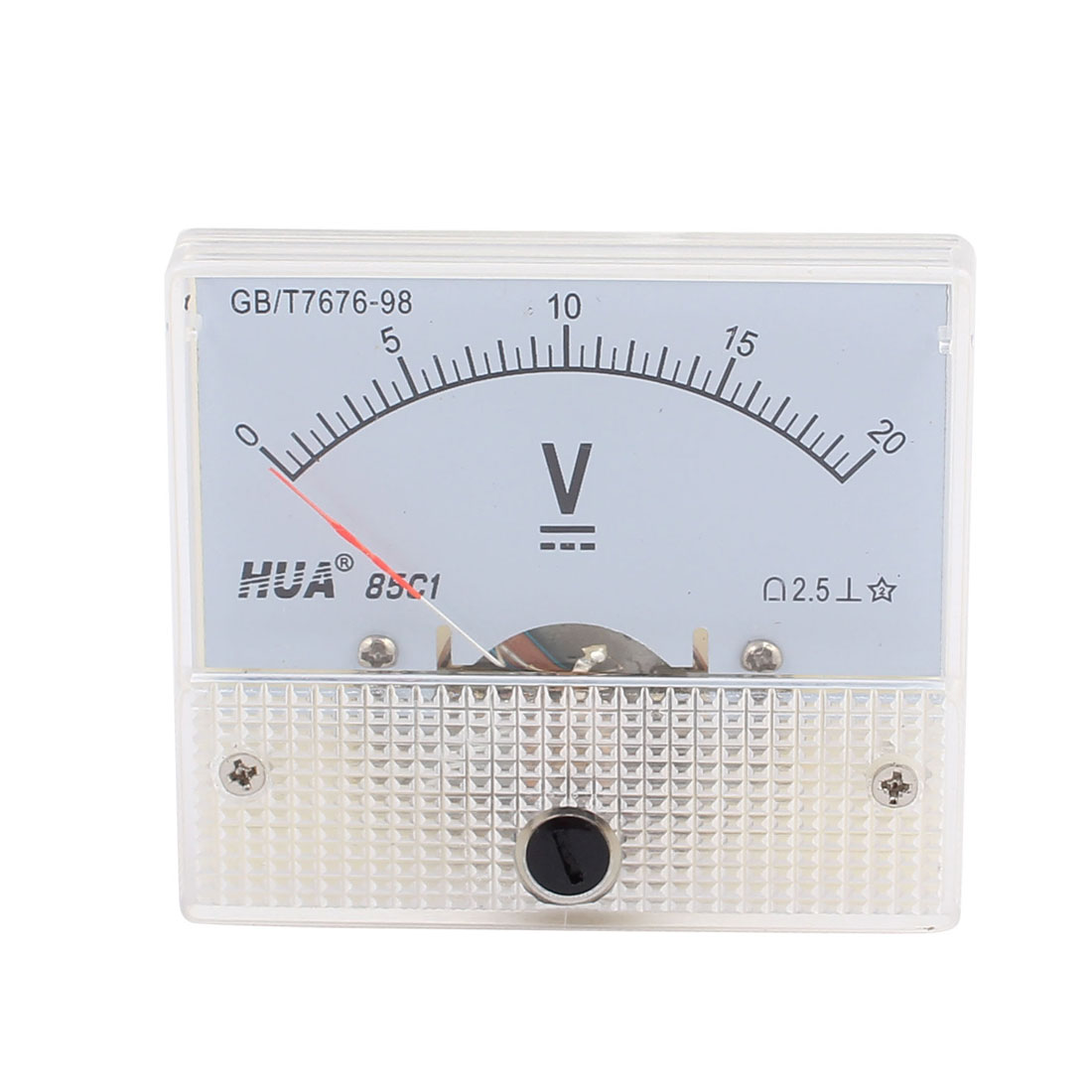 85C1 Class 2.5 Accuracy DC 0-20V Analog Panel Meter Voltmeter Gauge